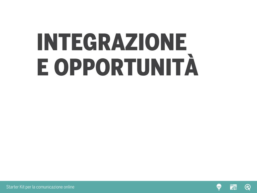 Starter Kit per la comunicazione online Integra...