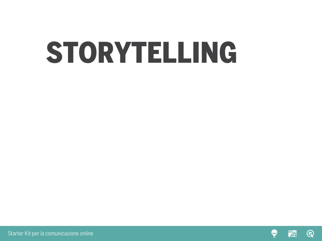 Starter Kit per la comunicazione online Storyte...