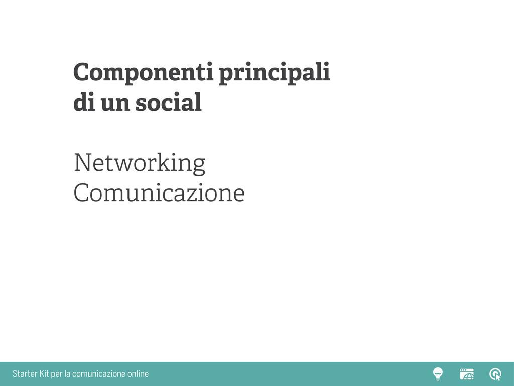 Starter Kit per la comunicazione online Compone...