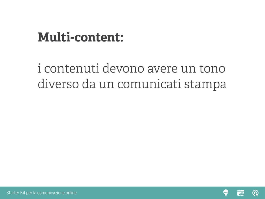 Starter Kit per la comunicazione online Multi-c...