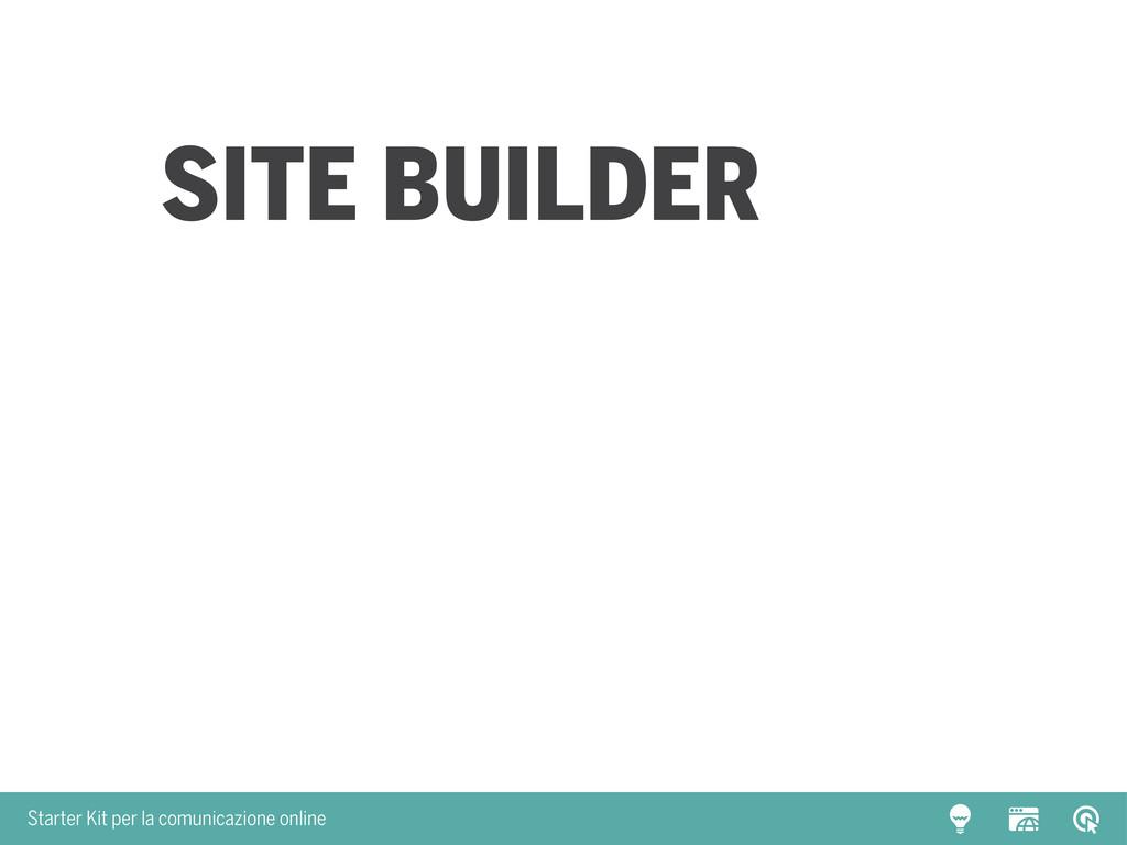 Starter Kit per la comunicazione online site bu...