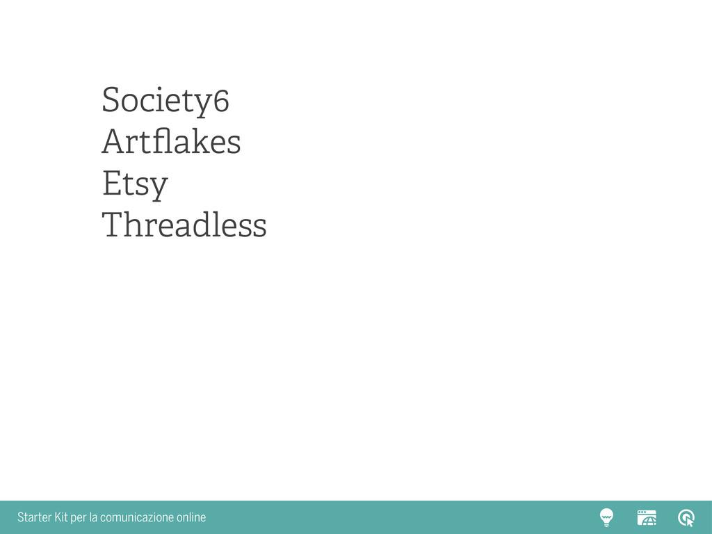 Starter Kit per la comunicazione online Society...