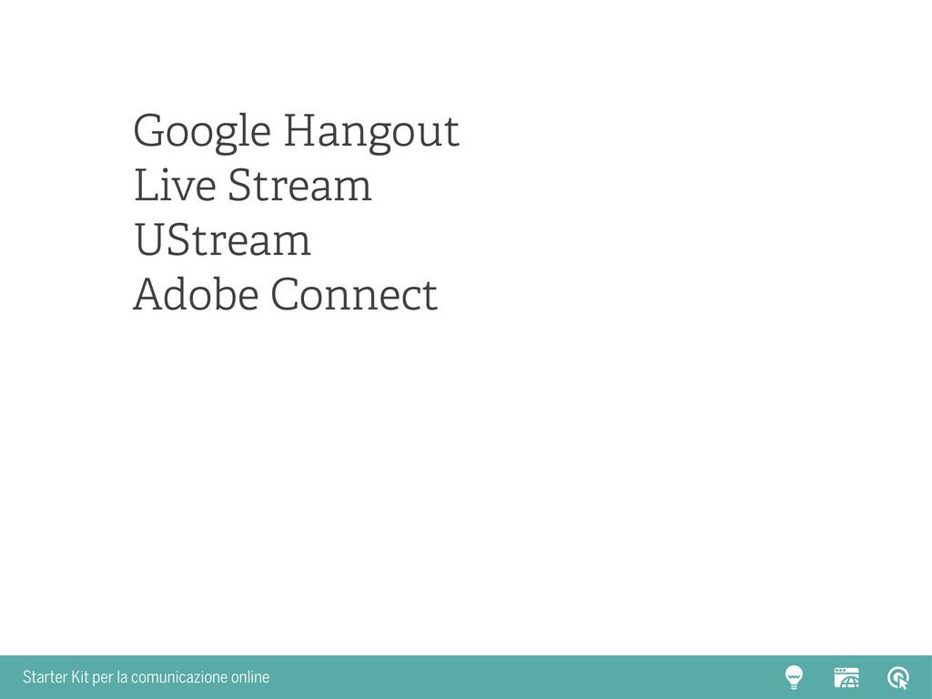 Starter Kit per la comunicazione online Google ...