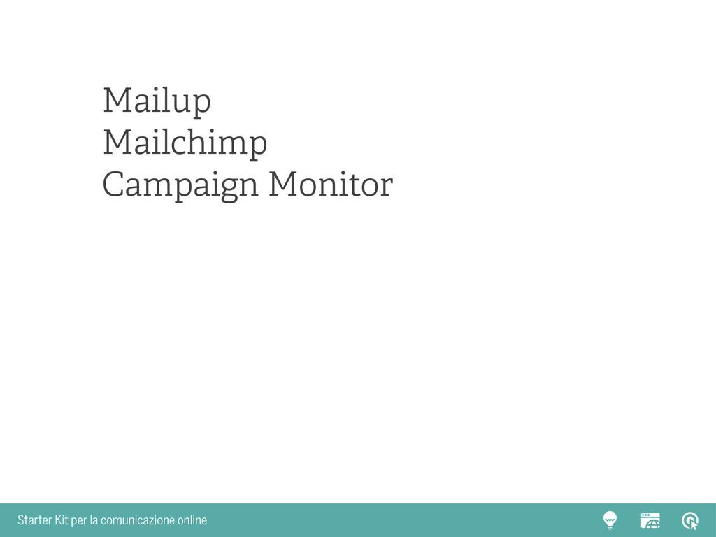 Starter Kit per la comunicazione online Mailup ...