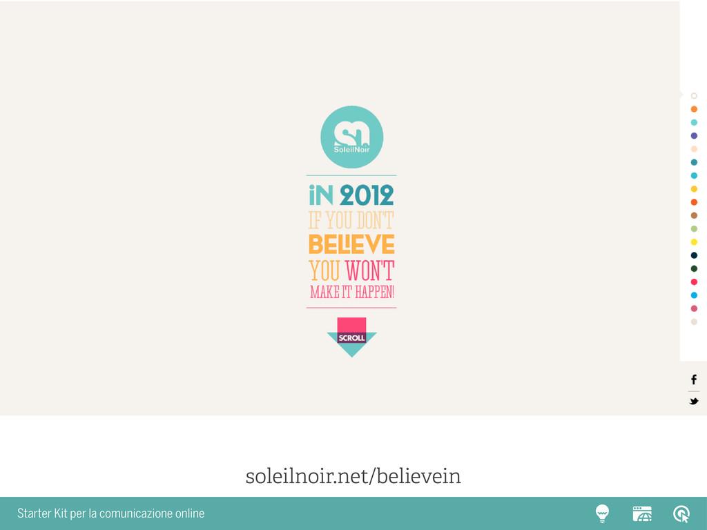 Starter Kit per la comunicazione online soleiln...