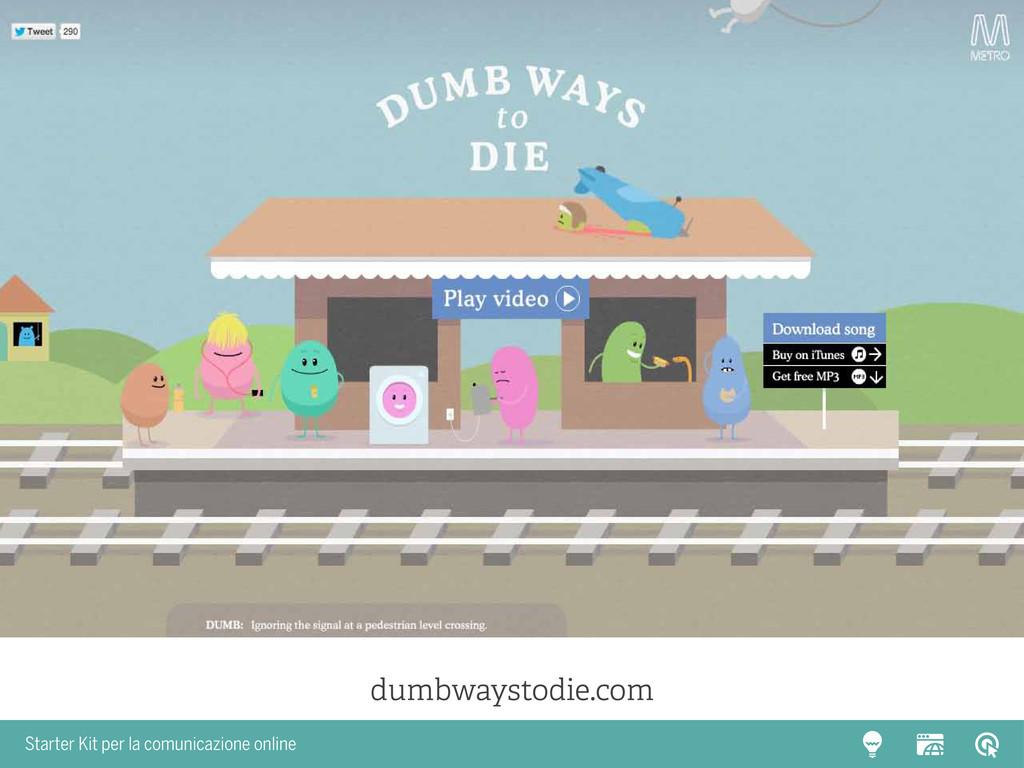 Starter Kit per la comunicazione online dumbway...