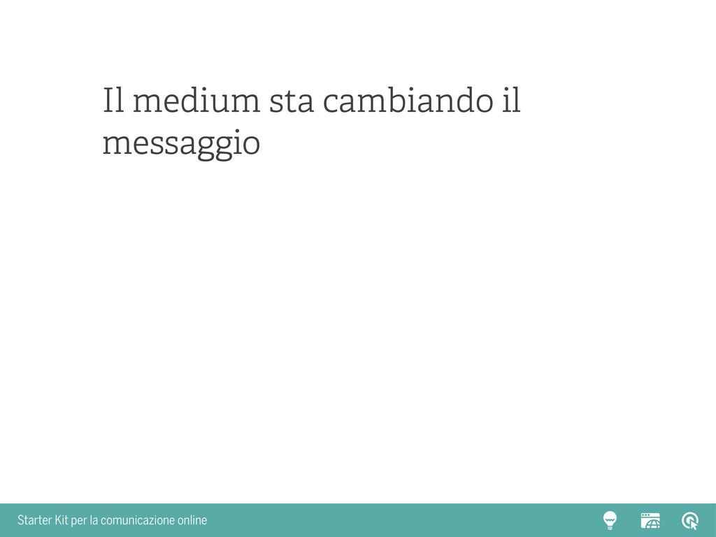 Starter Kit per la comunicazione online Il medi...