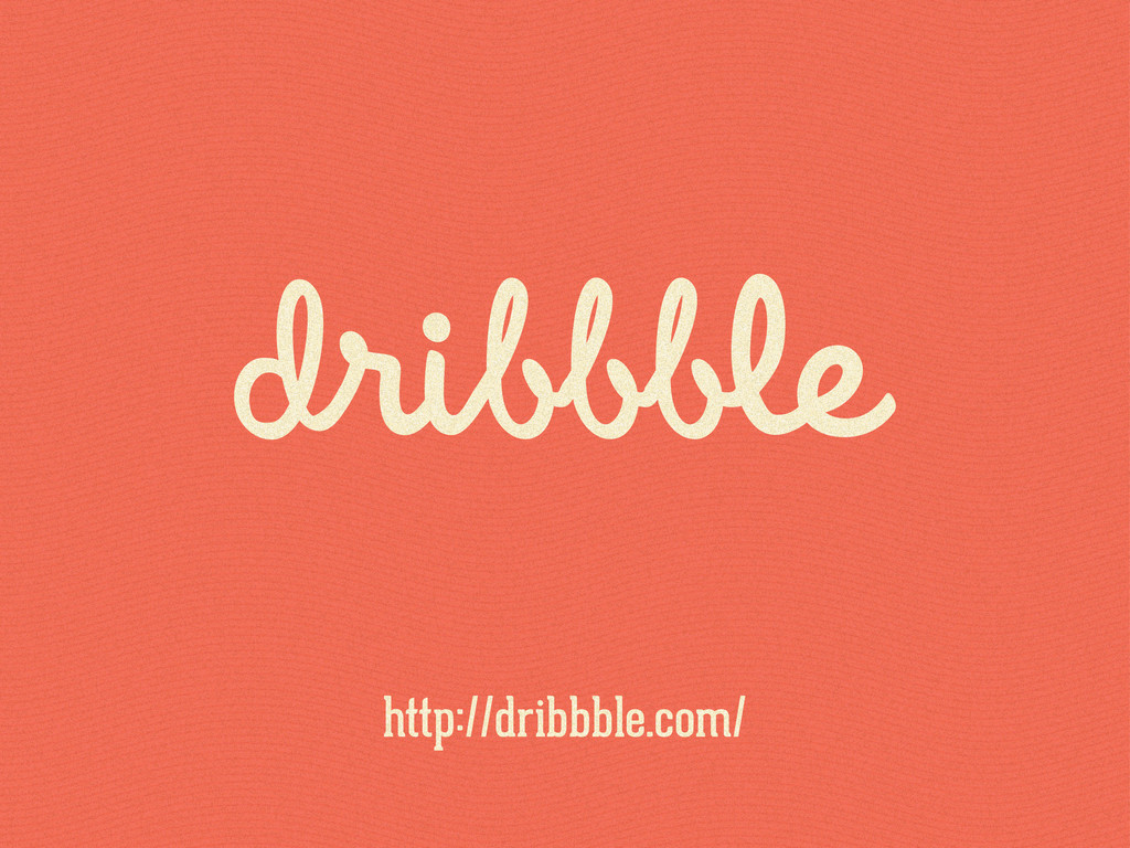 http://dribbble.com/