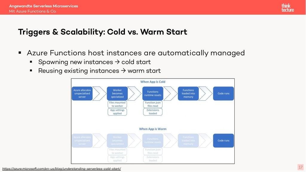 17 § Azure Functions host instances are automat...