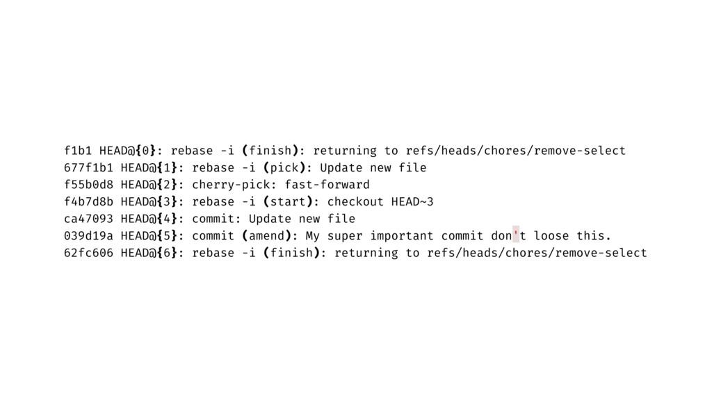 f1b1 HEAD@{0}: rebase -i (finish): returning to...