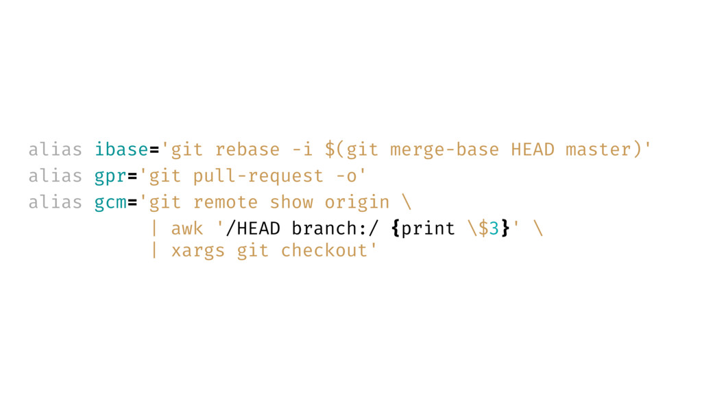 alias ibase='git rebase -i $(git merge-base HEA...