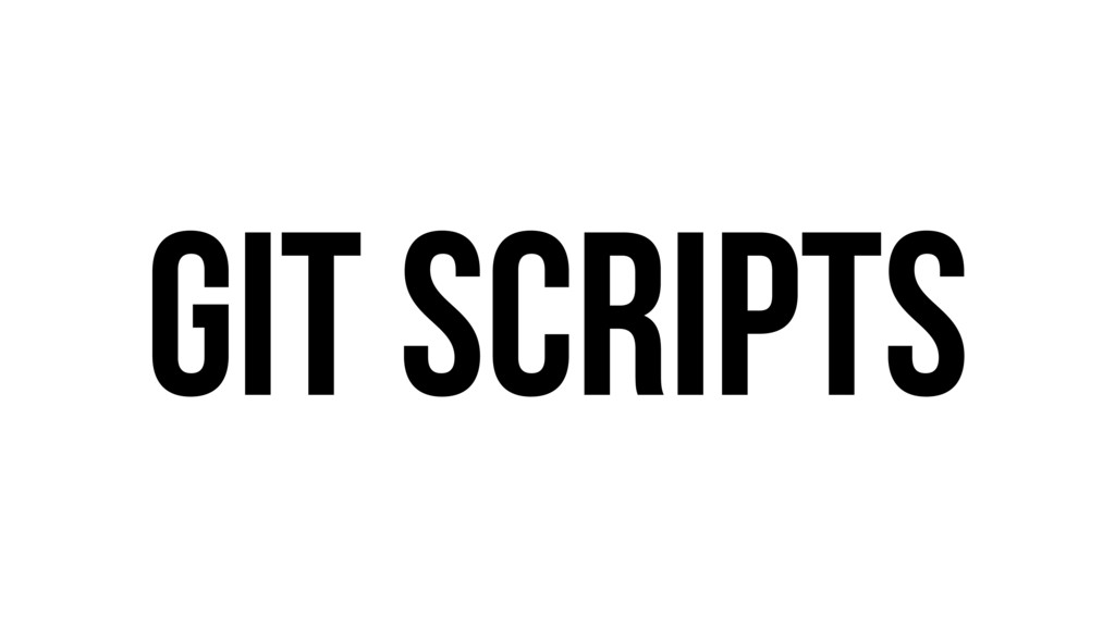 Git Scripts