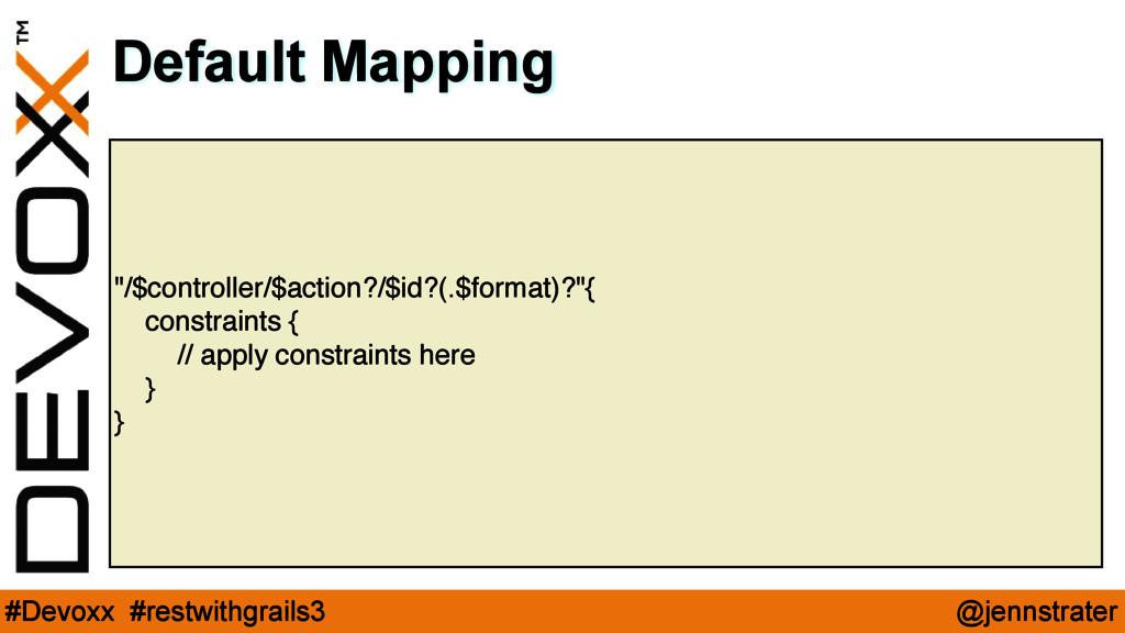 """@jennstrater #Devoxx #restwithgrails3 """"/$contro..."""