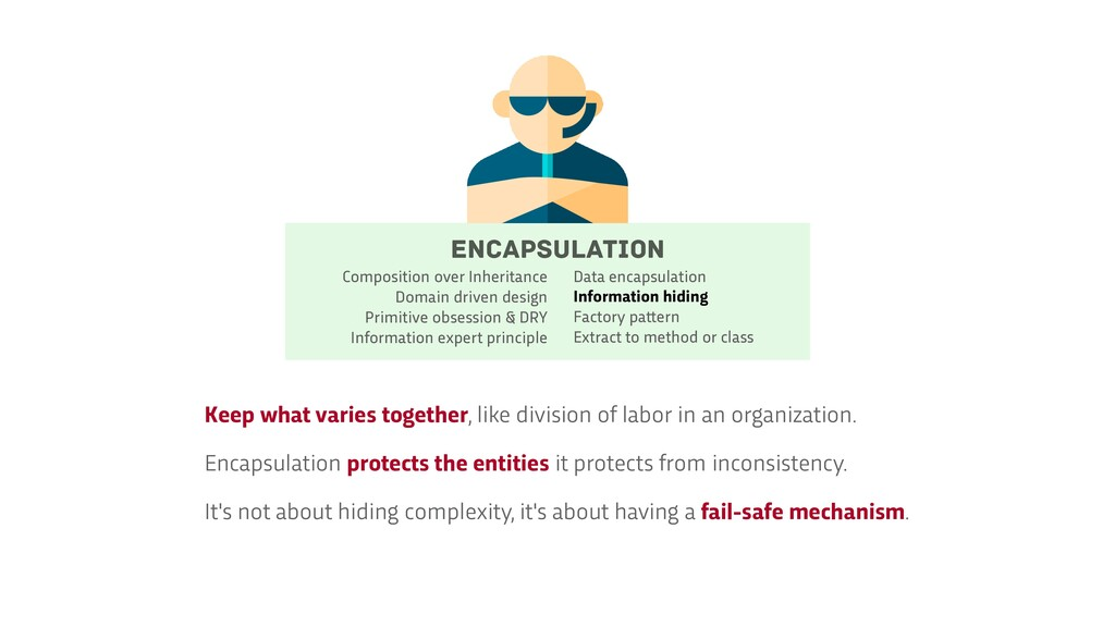 Encapsulation Data encapsulation   Information ...