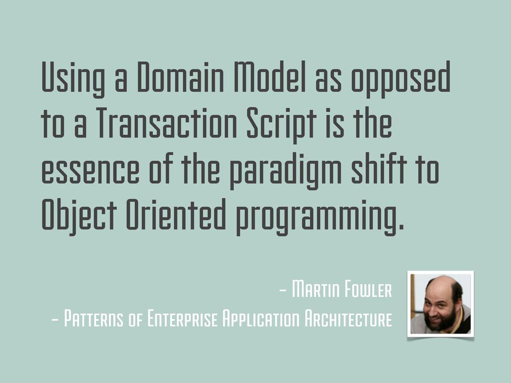 - Martin Fowler - Patterns of Enterprise Applic...