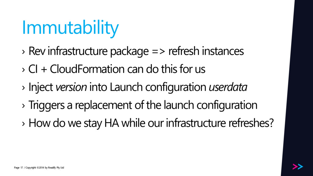 Page Immutability › Rev infrastructure package ...