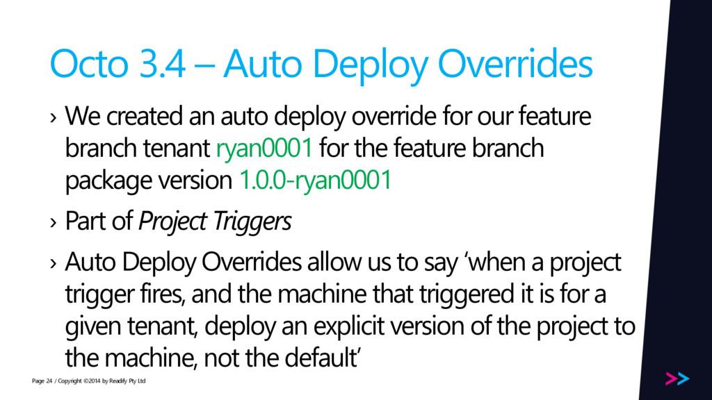 Page Octo 3.4 – Auto Deploy Overrides › We crea...
