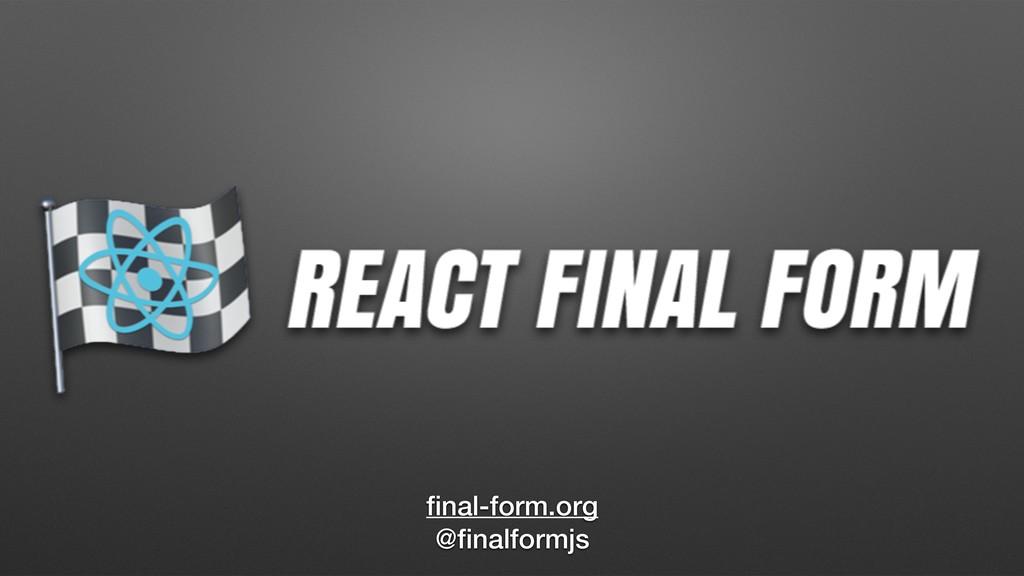 final-form.org @finalformjs
