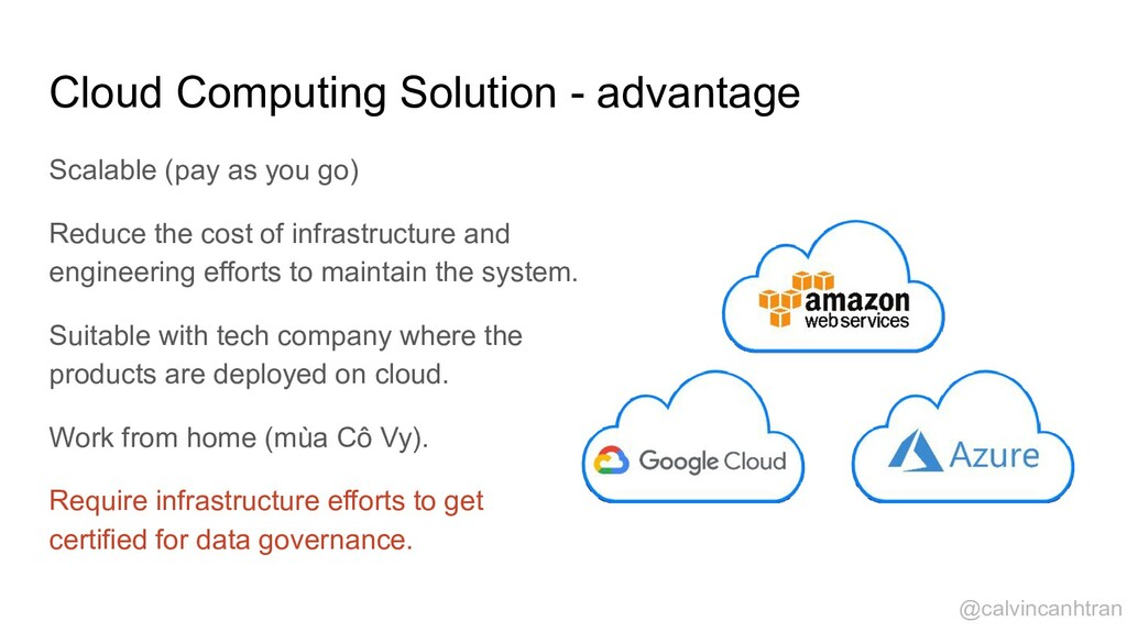 Cloud Computing Solution - advantage Scalable (...