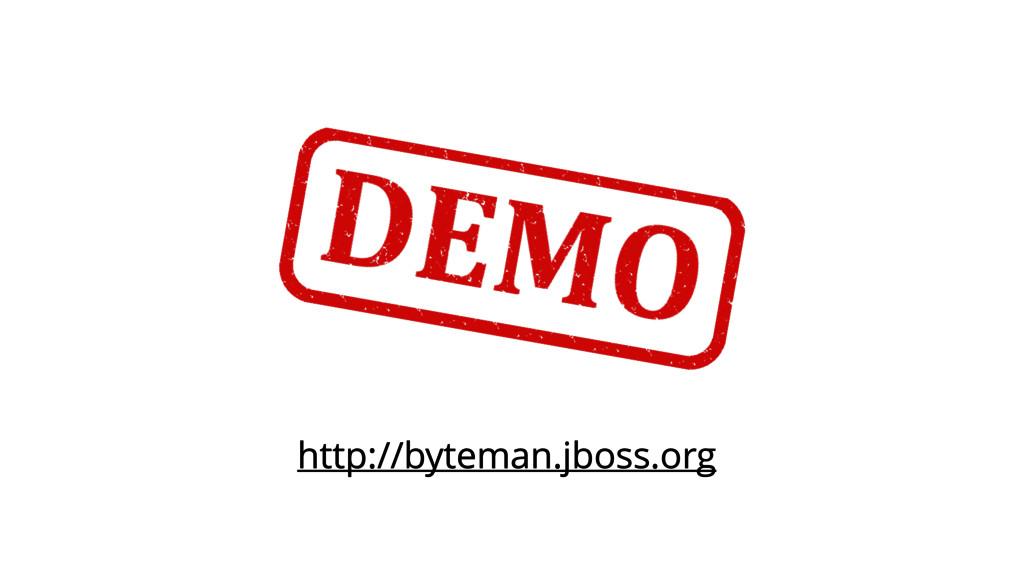http://byteman.jboss.org