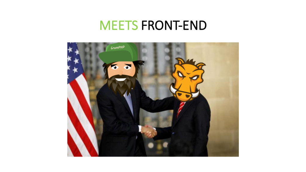 MEETS FRONT-‐END