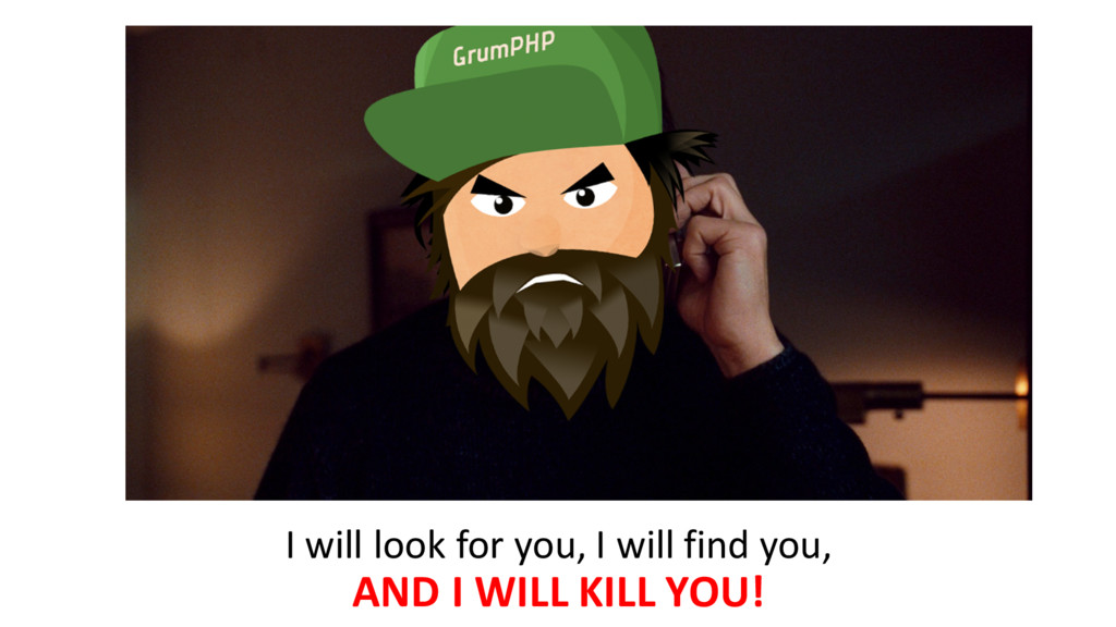 I will look for you, I will...