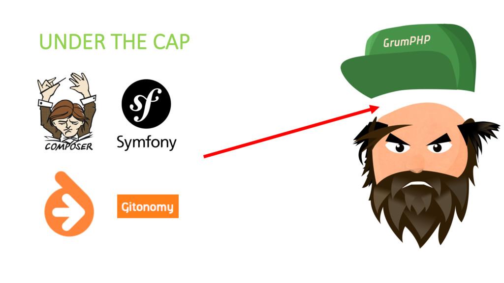 UNDER THE CAP