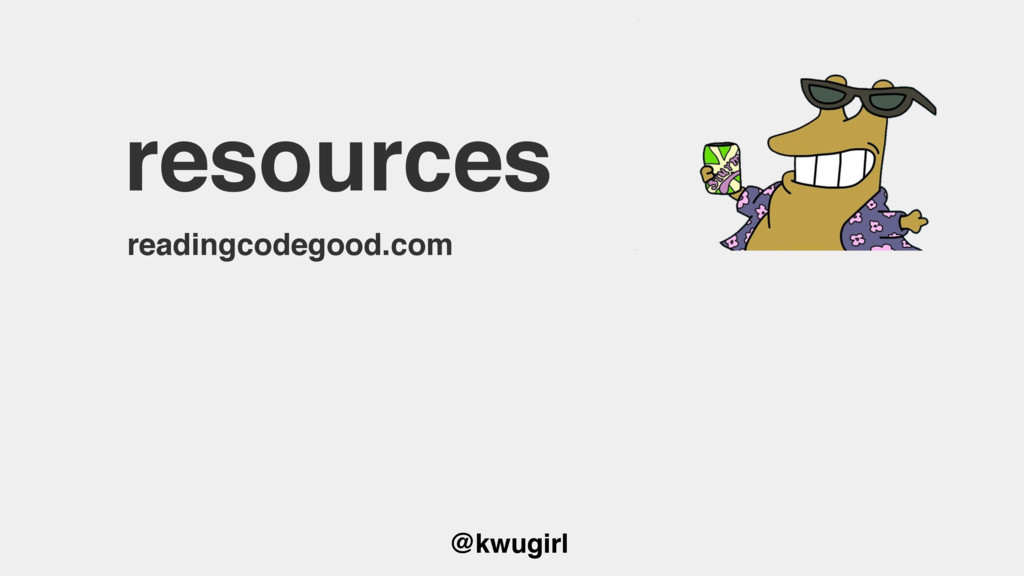 @kwugirl resources readingcodegood.com