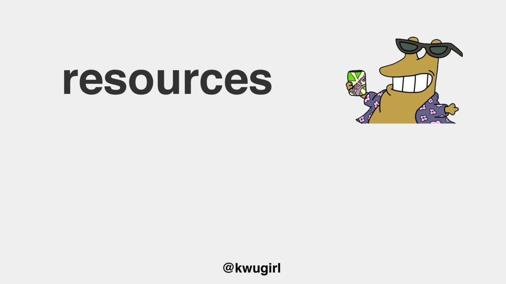 @kwugirl resources