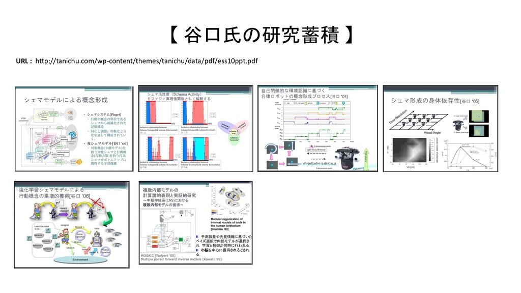 【 谷口氏の研究蓄積 】 URL : http://tanichu.com/wp-conten...