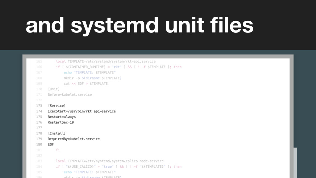 (without introducing more risk) and systemd uni...