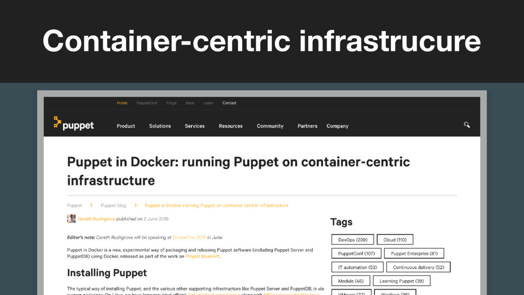 (without introducing more risk) Container-centr...