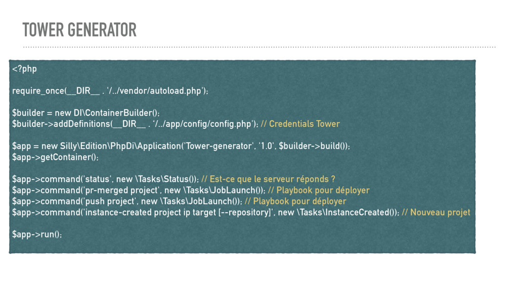 TOWER GENERATOR <?php require_once(__DIR__ . '/...