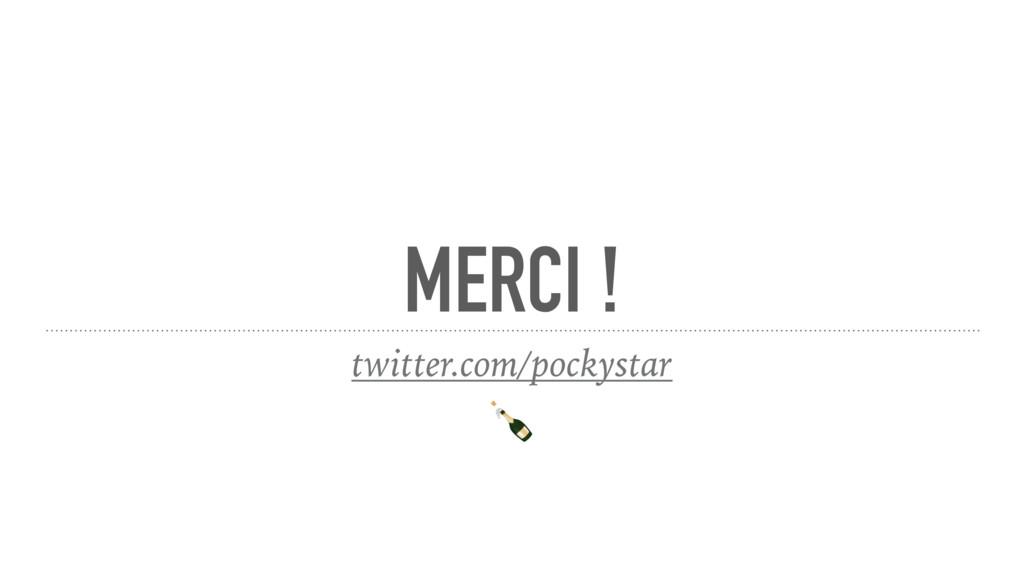 MERCI ! twitter.com/pockystar