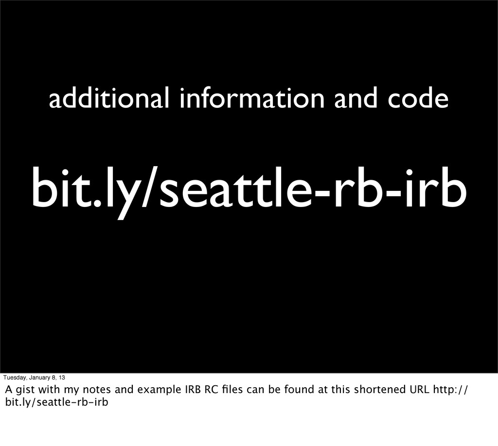 bit.ly/seattle-rb-irb additional information an...
