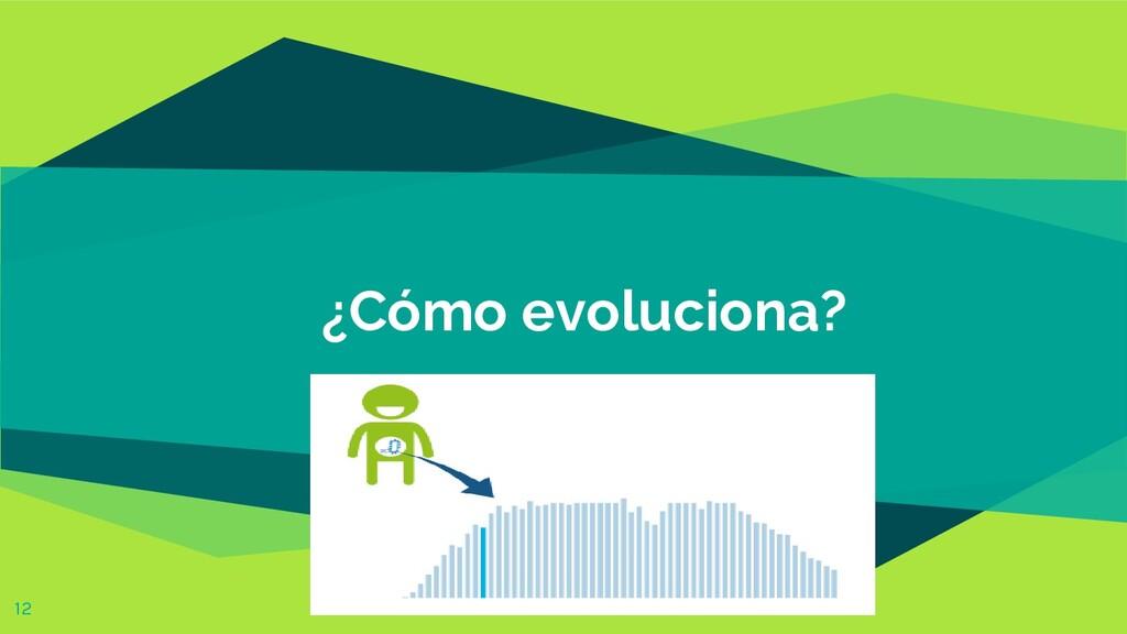 ¿Cómo evoluciona? 12