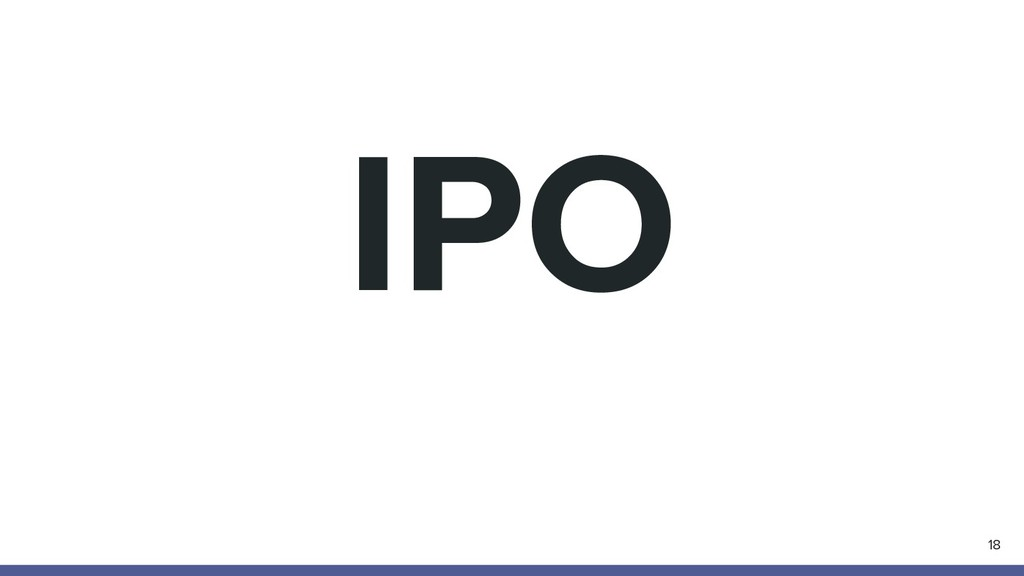 IPO 18