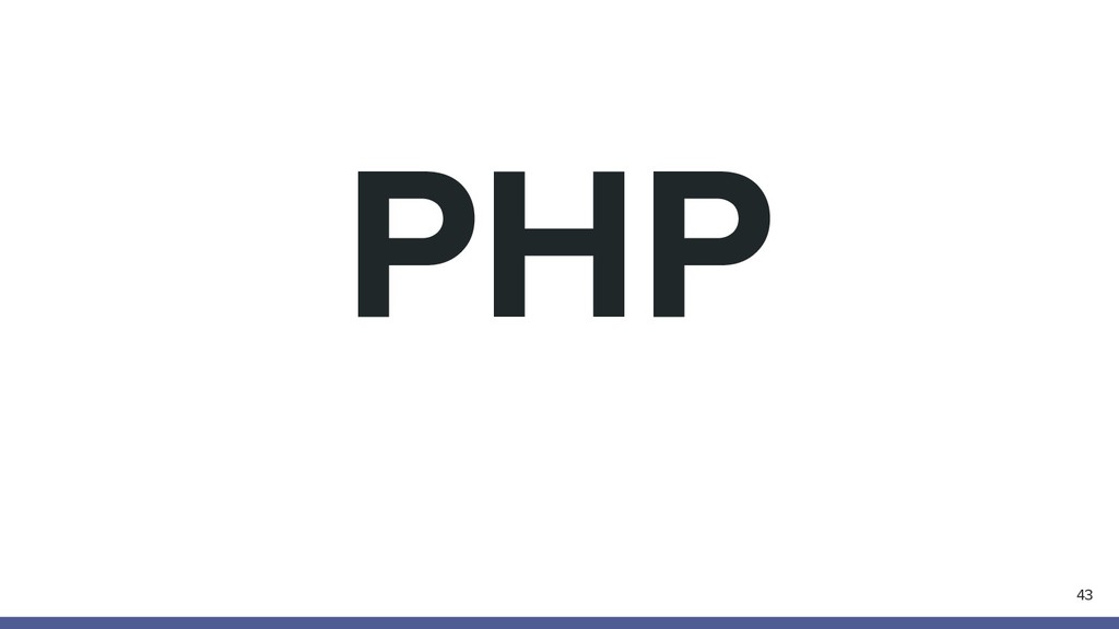 PHP 43