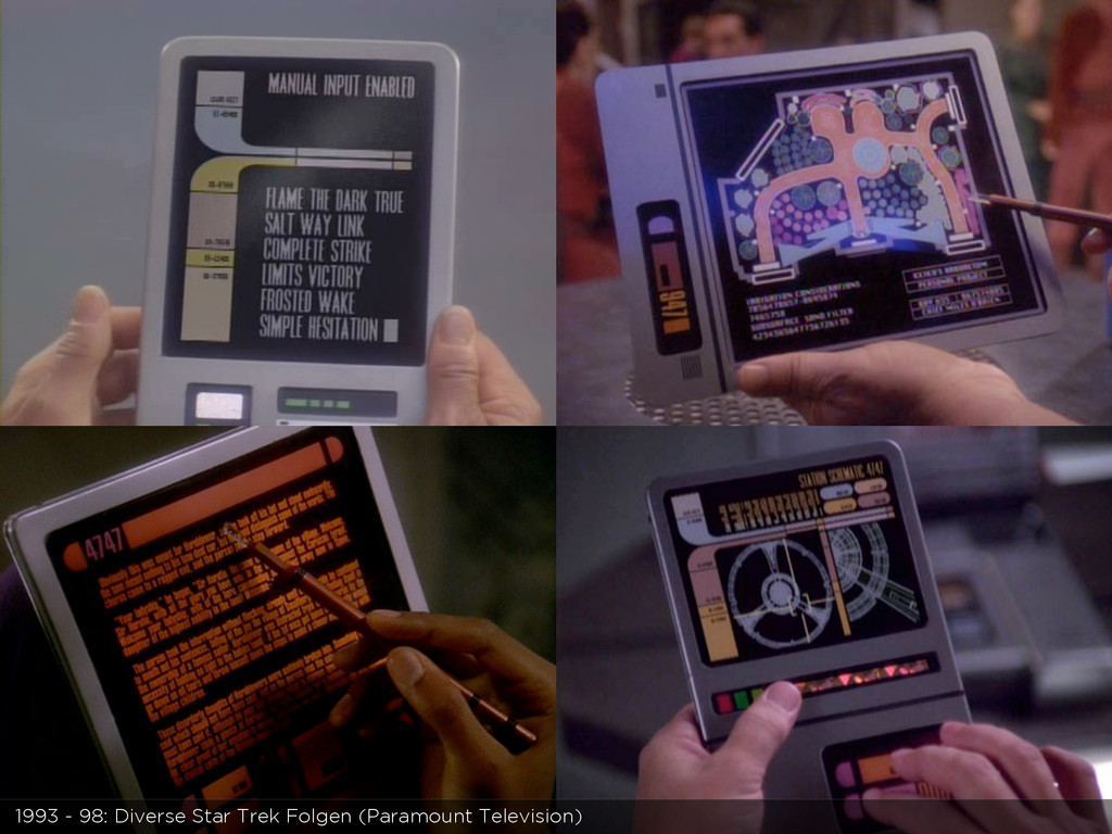 1993 - 98: Diverse Star Trek Folgen (Paramount ...