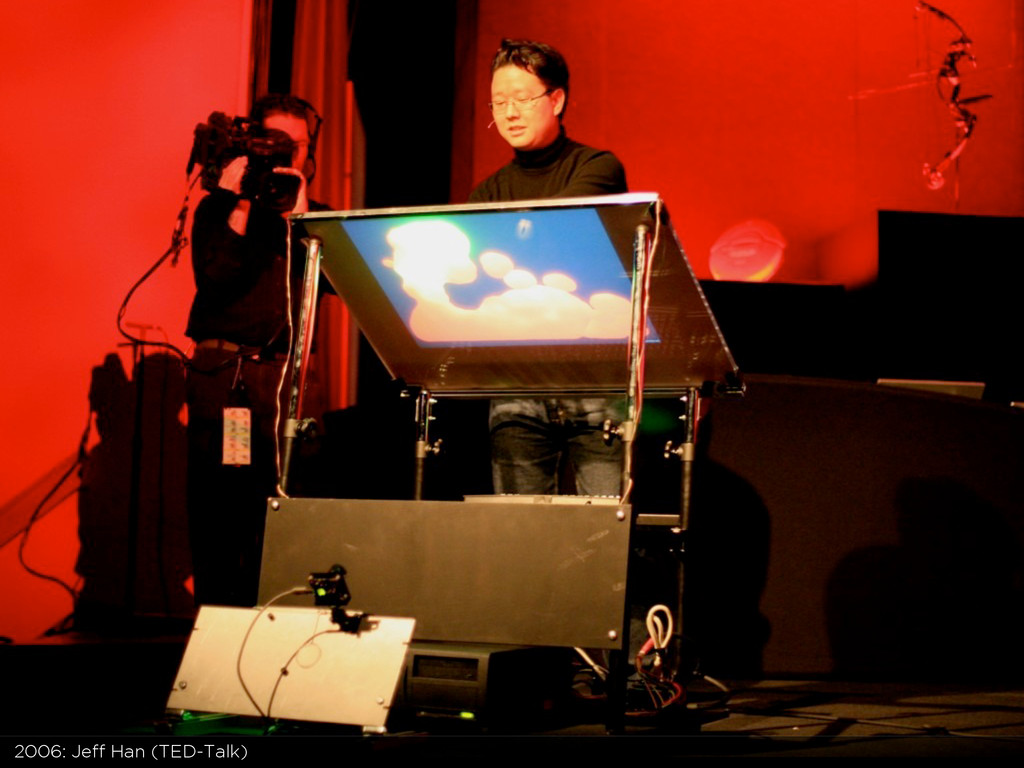 2006: Jeff Han (TED-Talk)