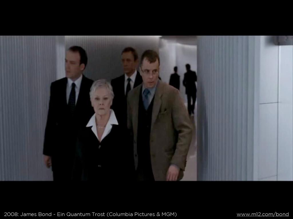 2008: James Bond - Ein Quantum Trost (Columbia ...