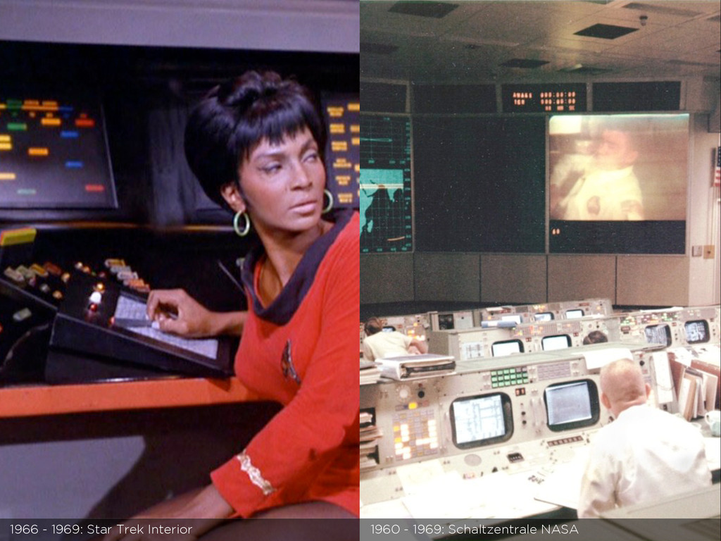 1966 - 1969: Star Trek Interior 1960 - 1969: Sc...