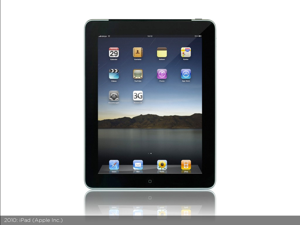 2010: iPad (Apple Inc.)