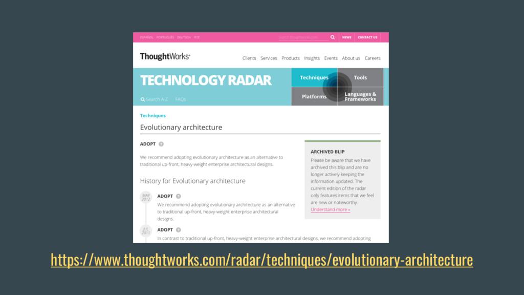 https://www.thoughtworks.com/radar/techniques/e...