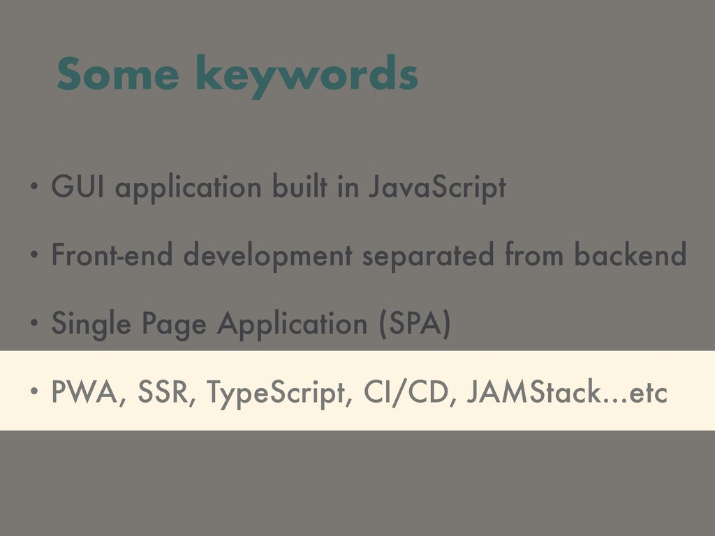 • GUI application built in JavaScript • Front-e...