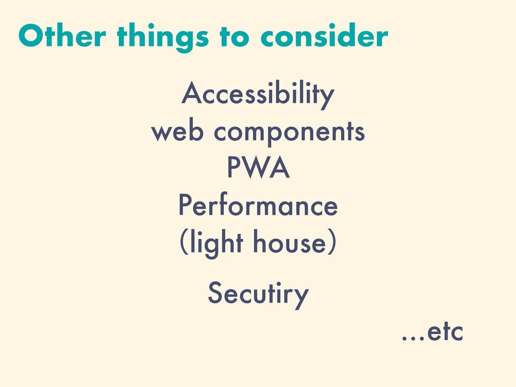 Accessibility web components PWA Performance ʢl...