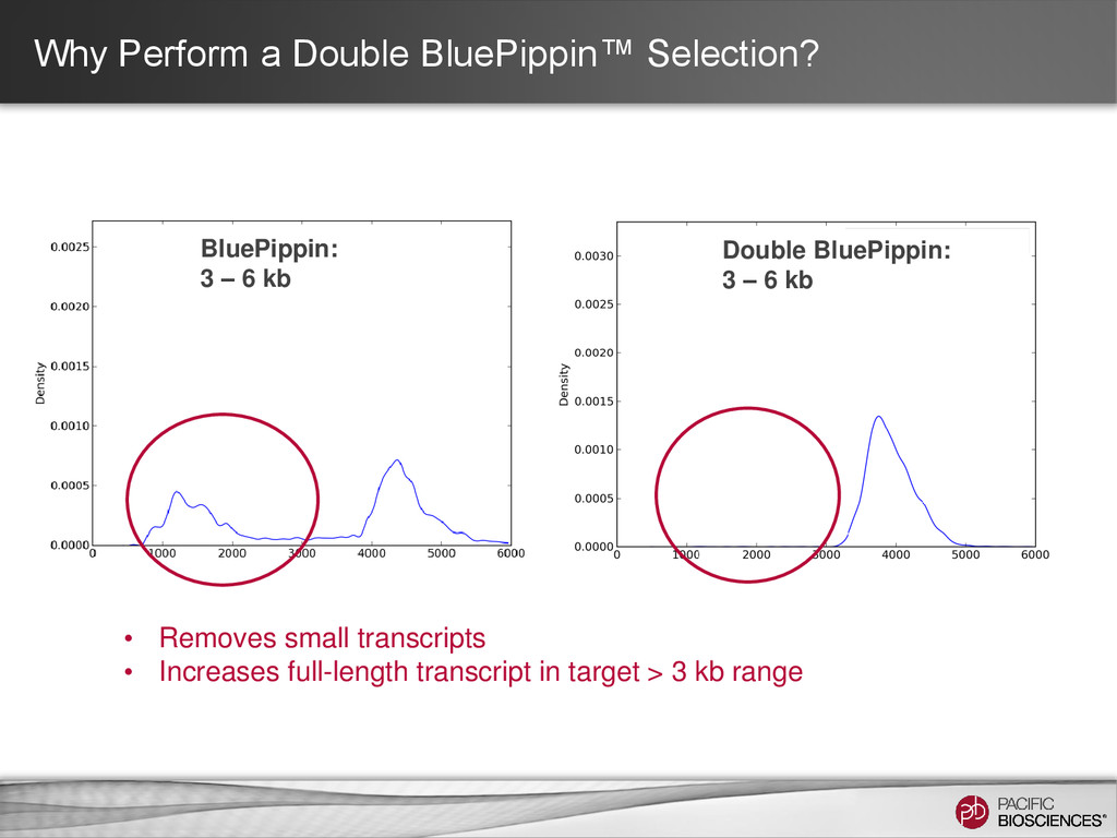 Why Perform a Double BluePippin™ Selection? • R...