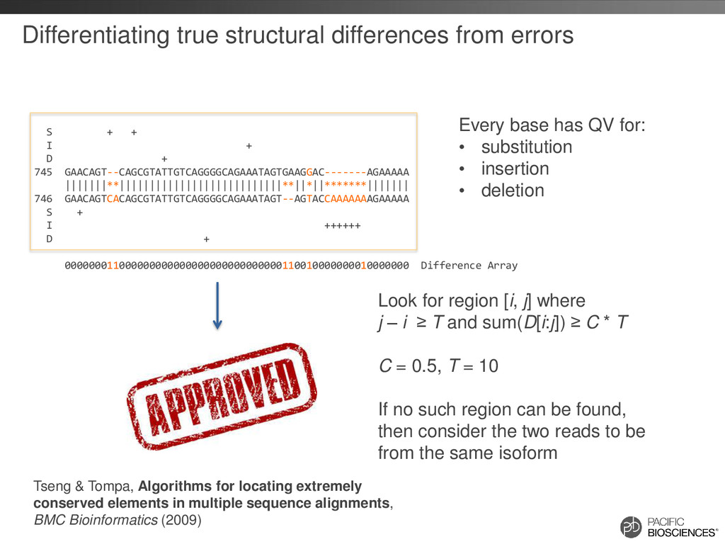 Differentiating true structural differences fro...