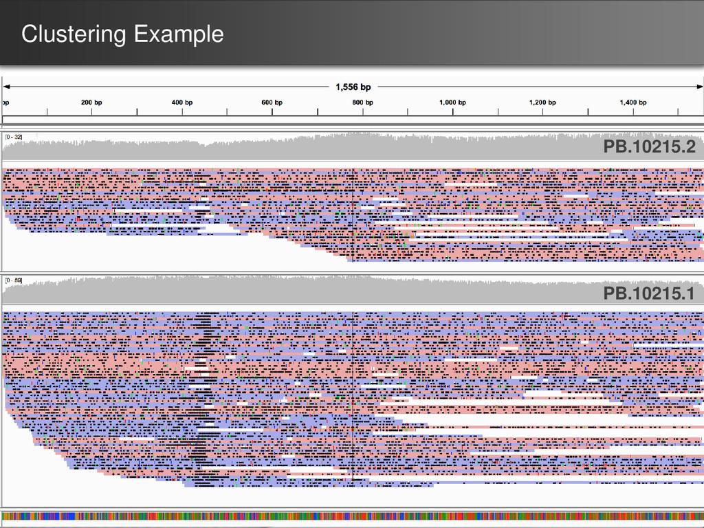 Clustering Example PB.10215.1 PB.10215.2