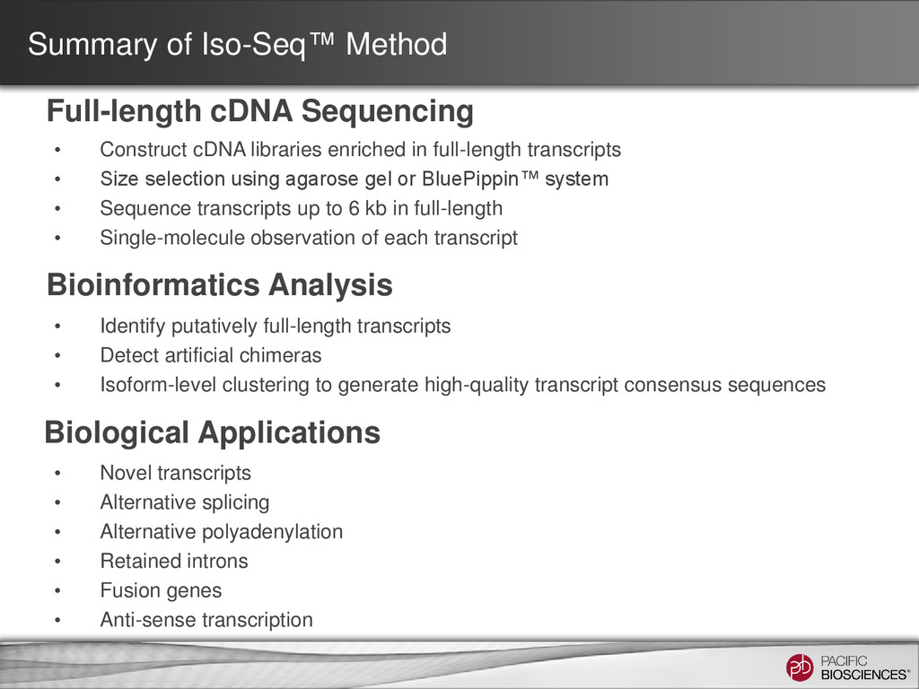 • Construct cDNA libraries enriched in full-len...